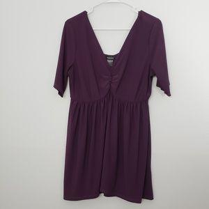 Torrid Plus Size 1X Ruched Short Sleeve Blouse